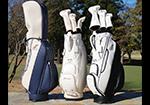 <イーグルポイントゴルフクラブ×testarte> イーグルポイントゴルフクラブ様との別注企画で、オリジナルの刺繍入りキャディバッグの展開を開始しました。